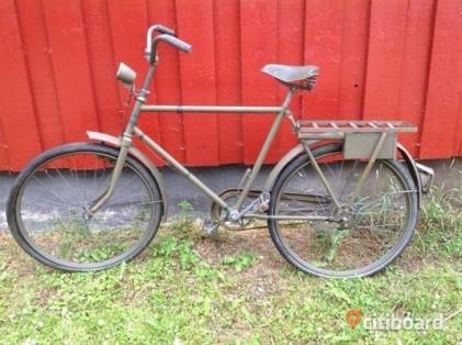 oanvand-gammal-militarcykel-3225317