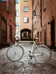 Racer Konradsbergsgatan Stockholm Cykelstöld