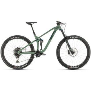 Stulen Cube Stereo Mountainbike Cykelstöld