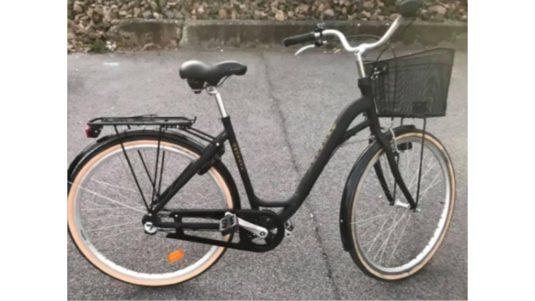 Cykelstöld Monark Fridhem Lund