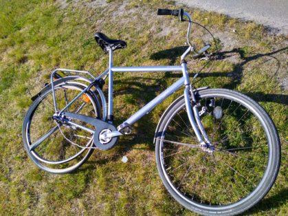 Upphittad Kungs Borgholm cykel i Solna, Stockholm