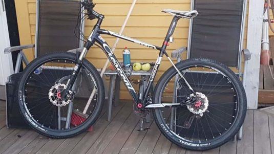 Stulen Crescent Eskilstuna Cykelstöld