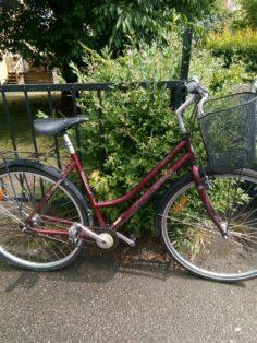Upphittad Cykelpro City Norrköping