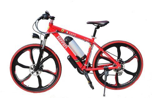 Cykelstöld Ferrari Elcykel Stulen Karlstad