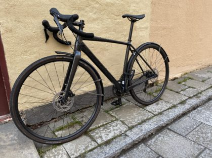 Cykelstöld Cannondale Topstone Stockholm Stulen