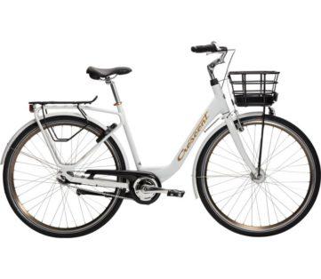 Cykelstöld Crescent Vit Tove Stulen