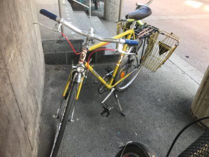 Stulen Legnano Göteborg Cykelstöld