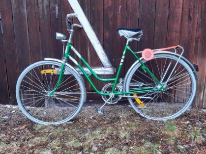 Cykelstöld Svart Rex Damcykel Uppsala
