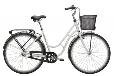 Cykelstöd Monark Karin Vit Västerås