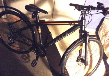Stulen Scott Mölnlycke Cykelstöld