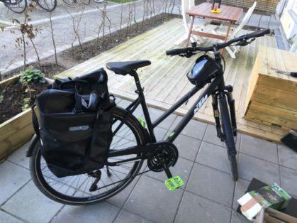 Cykelstöld KTM Veneto Lund Stulen