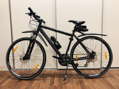 Cykelstöld Merida Stockholm Stulen
