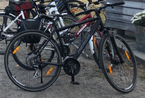 Cykelstöld Merida Crossway Solna Stulen