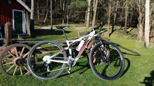 Cykelstöld Specialized Epic Carbon Stulen