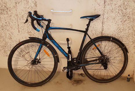 Cykelstöld Merida Göteborg Stulen