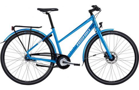 Cykelstöld Nishiki Halmstad Stulen
