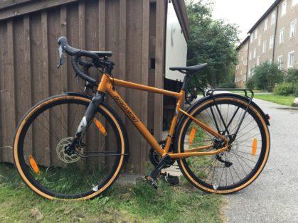 Cykelstöld Bergamont Grandurance Stockholm