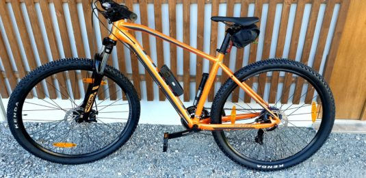 Stulen Scott Aspect Cykelstöld