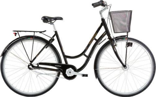 Cykelstöld Damcykel Winther Malmö Stulen