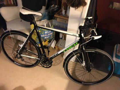 Cykelstöld Trek Gröndal Stulen