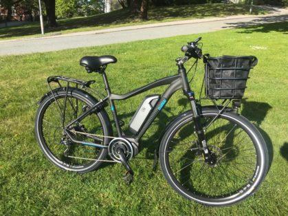 Cykelstöld Ecoride Göteborg Stulen