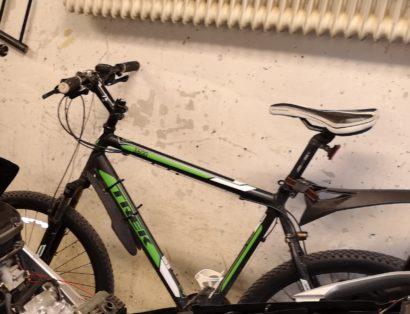 Cykelstöld Trek Enköping Stulen