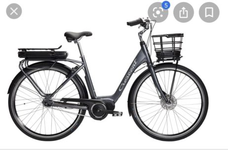 Cykelstöld Crescent Jönköping Stulen