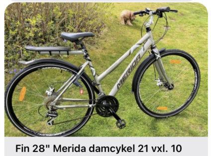 Cykelstöld Merida Gärdet Stulen