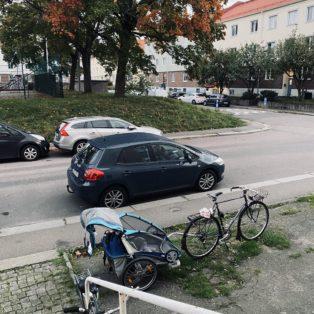 Cykelstöld Thule Kålltorp Stulen