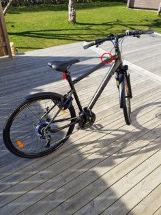 Stulen Scott Ängelholm Cykelstöld