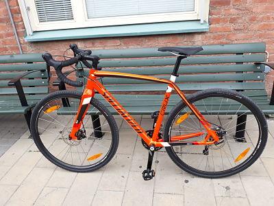 Cykelstöld Specialized Göteborg Stulen