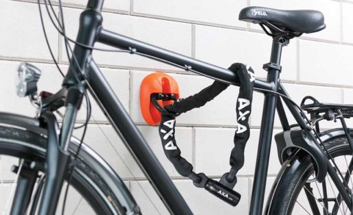 Hur låser jag min cykel