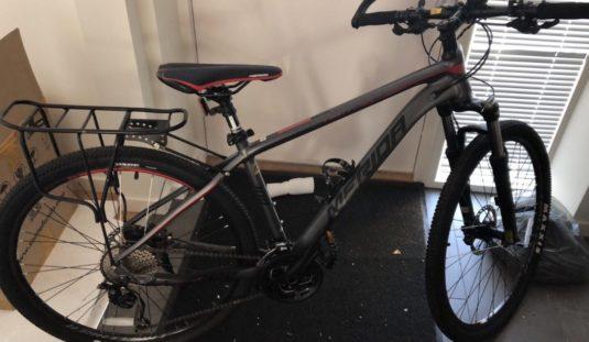 Cykelstöld Merida Linköping Stulen