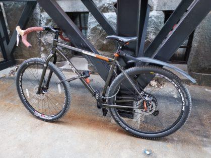 Cykelstöld Salsa Solna Stulen