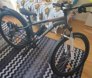 Cykelstöld Rockrider Stulen