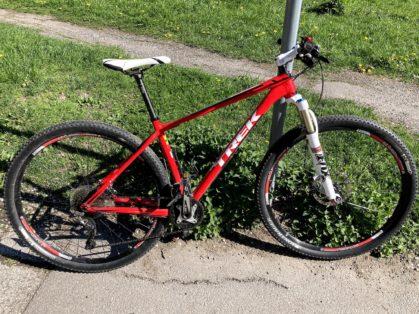 Cykelstöld Trek Solna Stulen