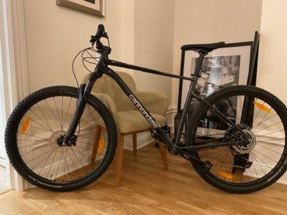 Cykelstöld Cannondale Stockholm Stulen