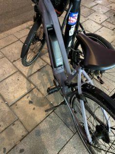 Cykelstöld Scott Östermalm Stulen