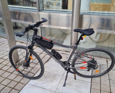 Cykelstöld Riverside Sundbyberg Stulen