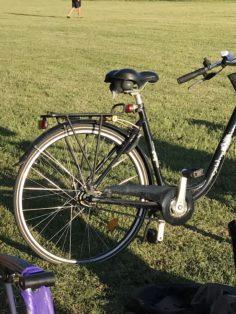 Stulen cykel Fristadstorget i Eskilstuna