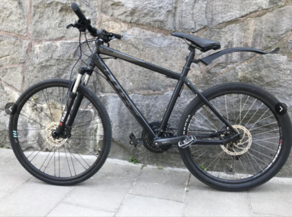 Cykelstöld Scott Stockholm Stulet