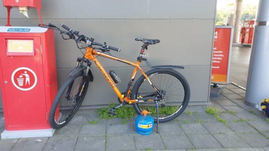 Cykelstöld Crescent Göteborg Stulen