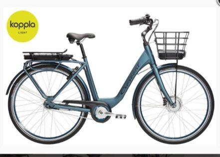 Cykelstöld Crescent Lund Stulen