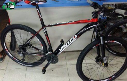 Cykelstöld Venzo Johanneshov Stulen