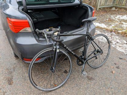 Cykelstöld Trek Stockholm Stulen