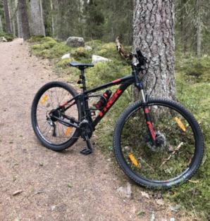 Cykelstöld Trek Gävle Stulen