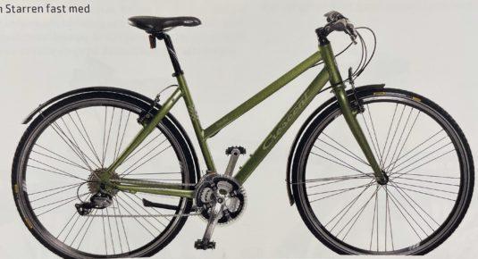 Cykelstöld Crescent Södermalm Stulen