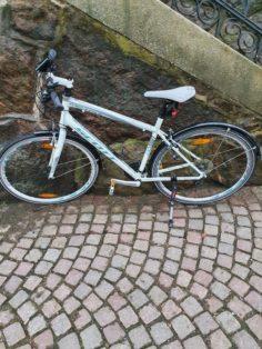 Cykelstöld Scott Göteborg Stulen