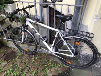 Cykelstöld Ballistic Göteborg Stulen