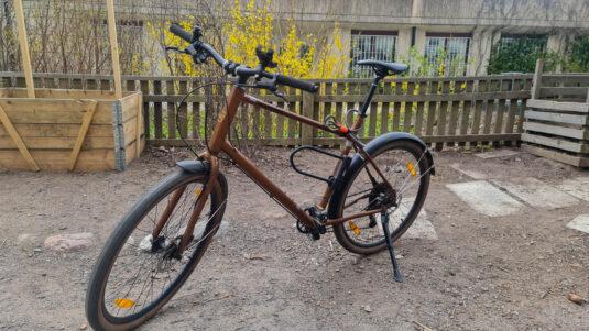Cykelstöld Kona Stockholm Stulen